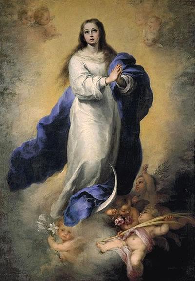 ムリーリョの絵画『無原罪の御宿り』
